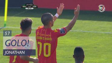 Jonathan Rubio anota su primer gol con el Tondela de Portugal (VÍDEO)
