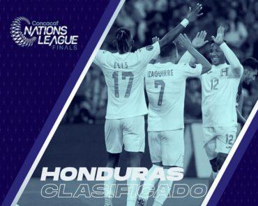 Concacaf anuncia oficialmente que Honduras clasifica a las finales de la Nations League